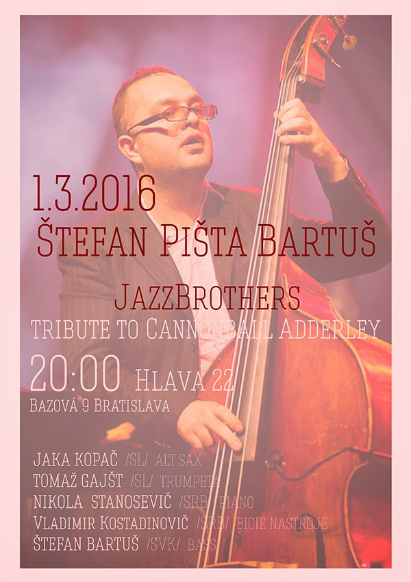 S.P.Bartus&JazzBrothers tribute to C.Adderley