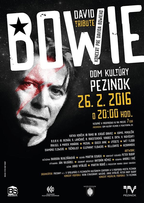 plagat David Bowie final