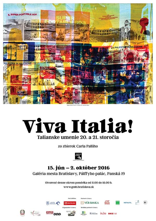 Viva Italia! manifesto A1