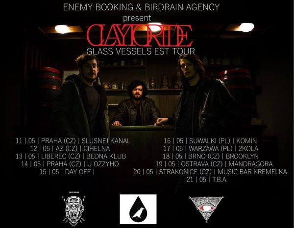 claytoride tour poster