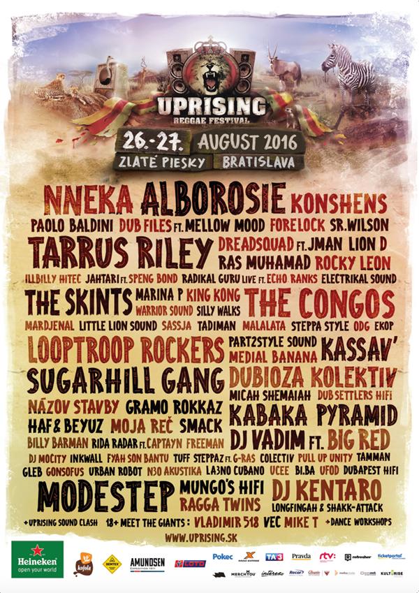 Poster 2016 Uprising