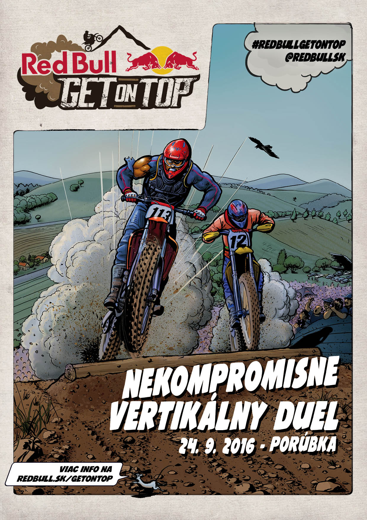 Red Bull Get on Top 2016_poster