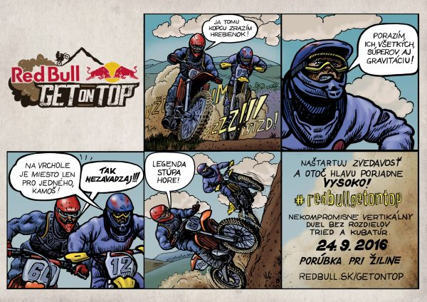 Red Bull Get on Top 2016_Komiks