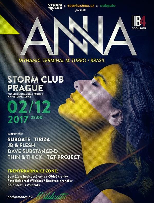 Brazilská producentka ze stáje Diynamic music roztančí pražský Storm!