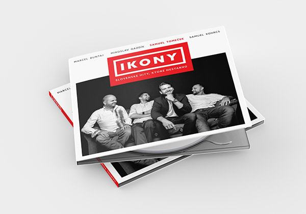 Samuel Tomeček si novým albumom IKONY uctil slovenskú popmusic.