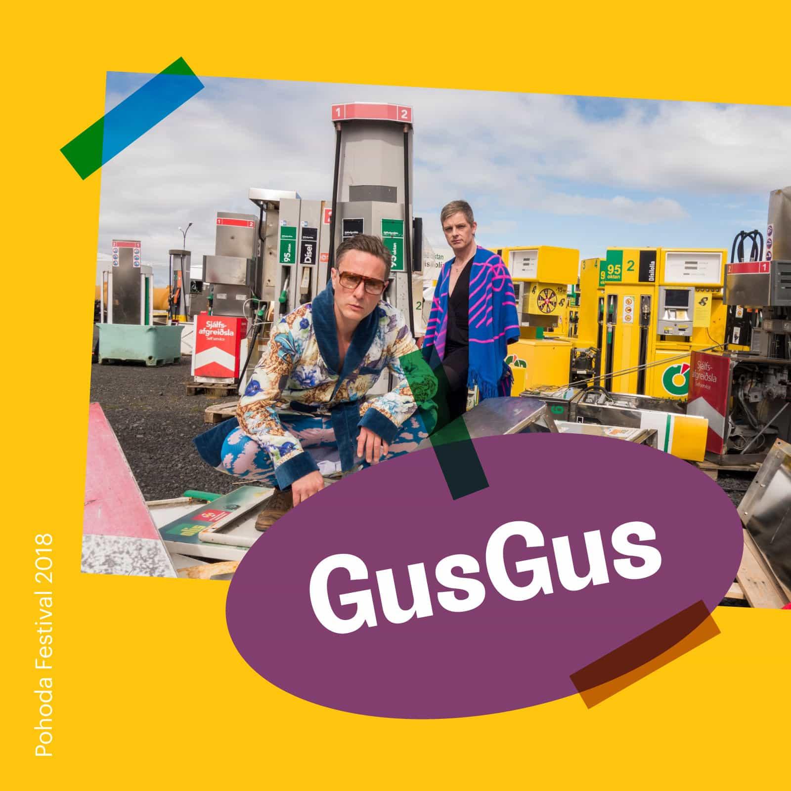 Pohoda 2018: GusGus na festivale!