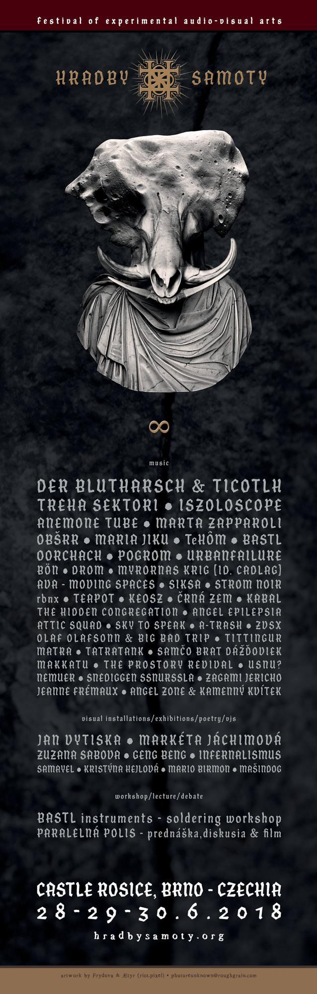 HRADBY SAMOTY VIII. – festival experimentálního audio-vizuálního umění